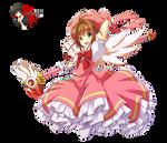 Kinomoto Sakura - CCS render 3/png