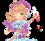 Kinomoto Sakura - CCS render 12/png