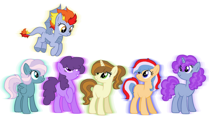 Mane 6 Next Gen Adoptables {CLOSED} by superponymon