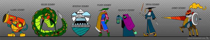 Shovel Knight - Extra Knights