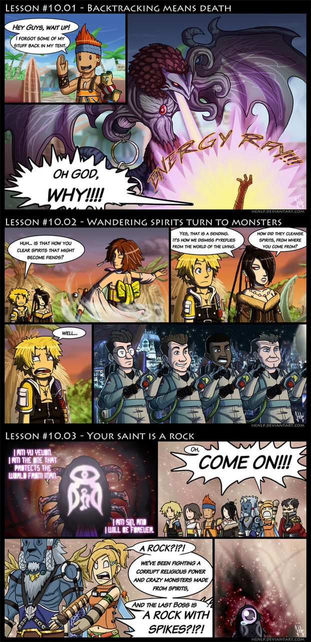 Final Fantasy X Lessons by HenLP