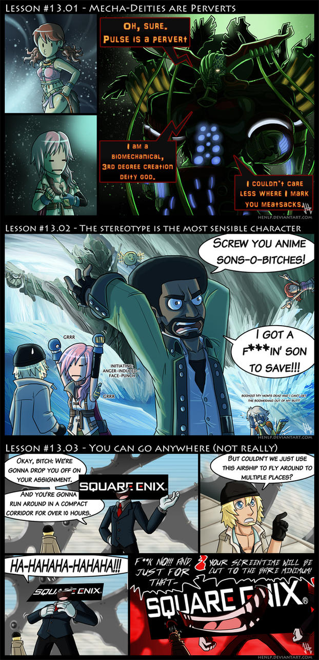 Final Fantasy XIII Lessons by HenLP