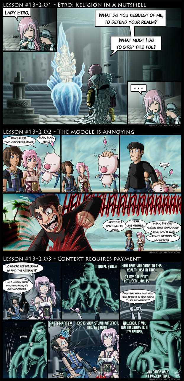 Final Fantasy XIII-2 Lessons by HenLP