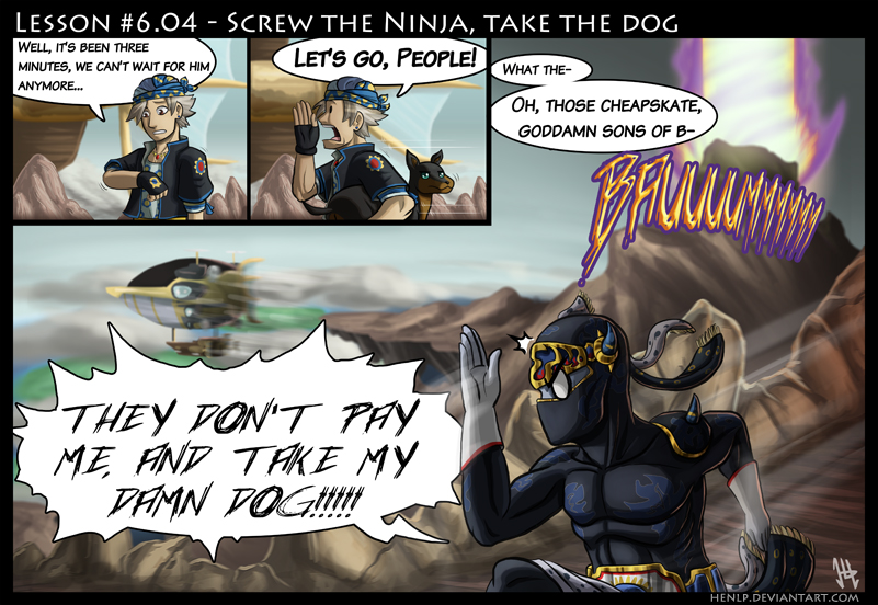 Final Fantasy Lesson #6.04 by HenLP