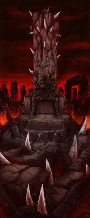 Enthroned in Rage