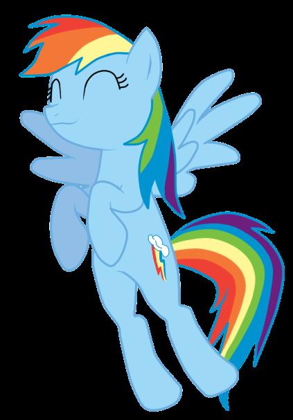 Rainbow Dash. Vector by ShizaLuckyDevil