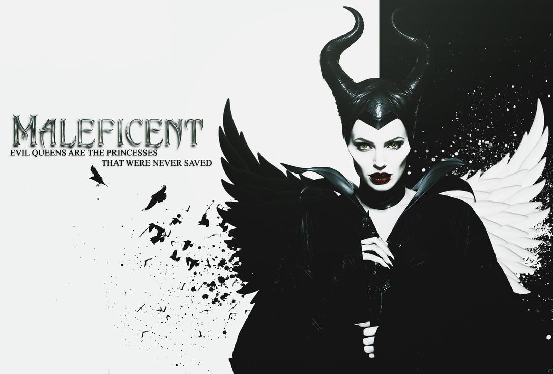 Maleficent Wallpaper by kiznova