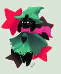 DELTARUNE - Ralsei the prince without background