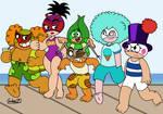 Summer Luchadores