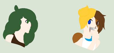 Ella and Ivy by SladeFanGirl