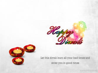 Diwali Wishes by sureshbabudj
