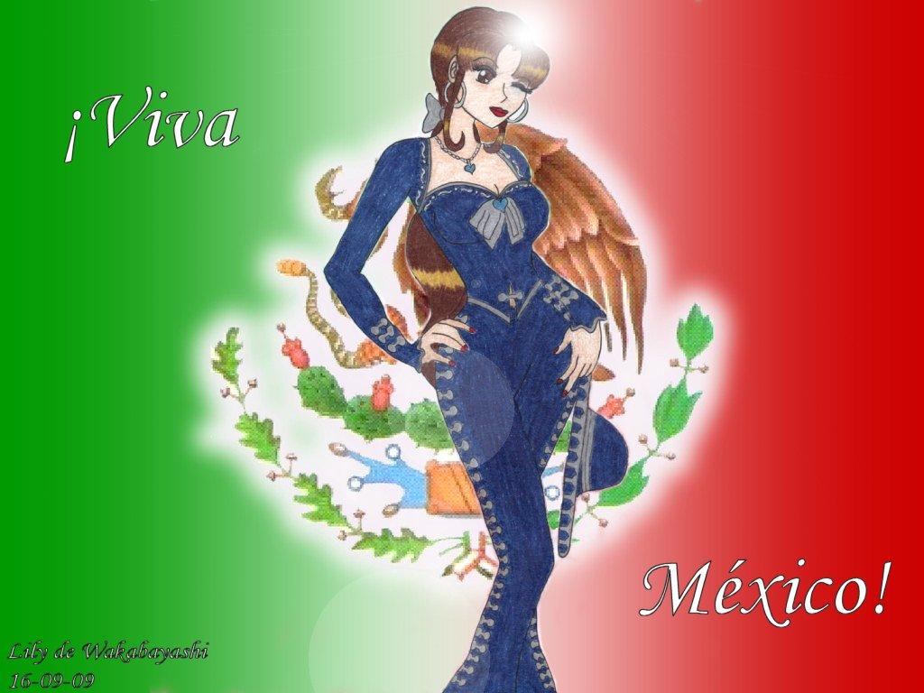Viva Mexico by LilydeWakabayashi on DeviantArt