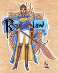 Quidditch player: Ravenclaw