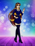 Blue dress code by Lily-de-Wakabayashi