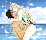 Gift: Sousuke and Sea by Lily-de-Wakabayashi