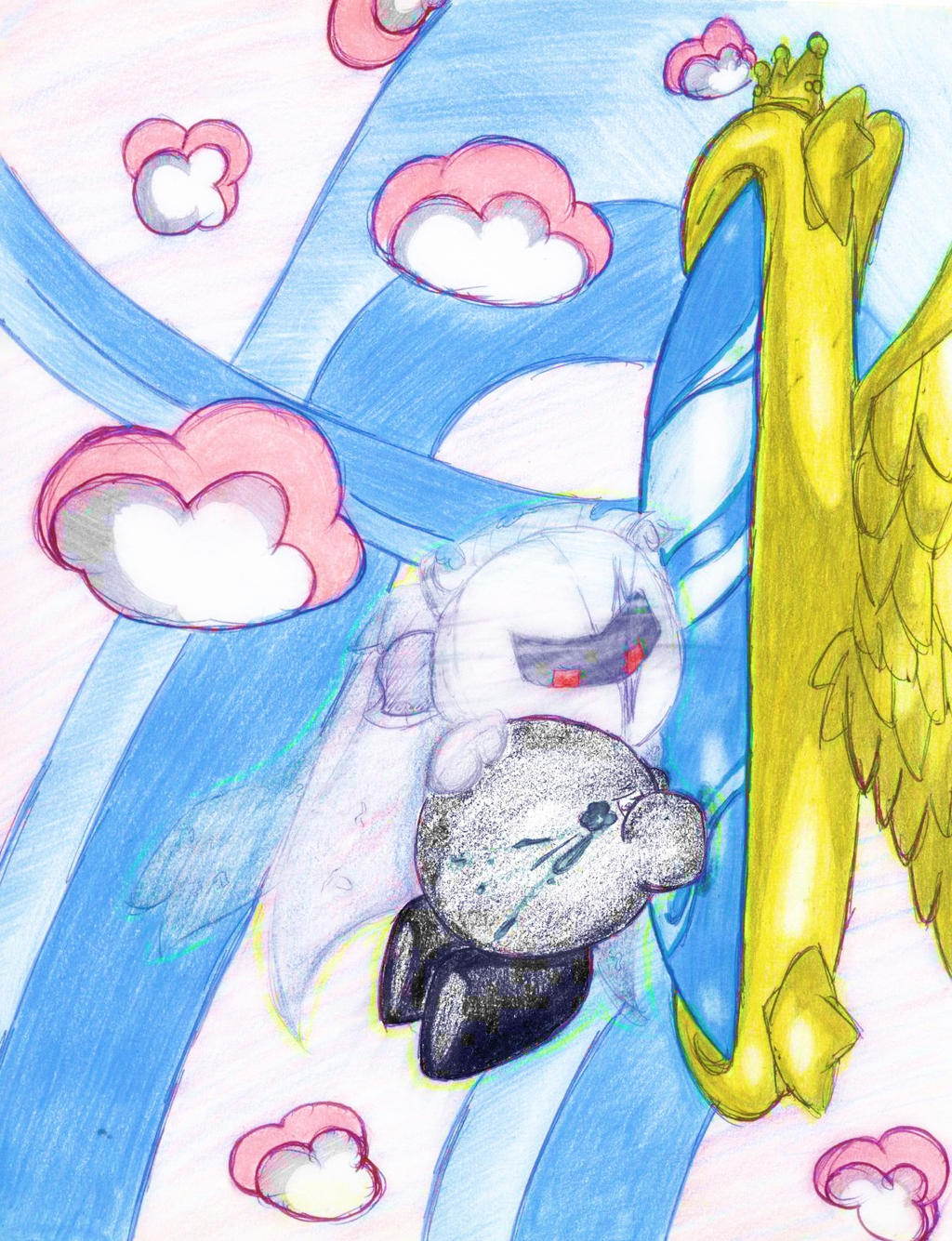 Dark Meta Knight And Shadow Kirby by SonirbyLovS on DeviantArt
