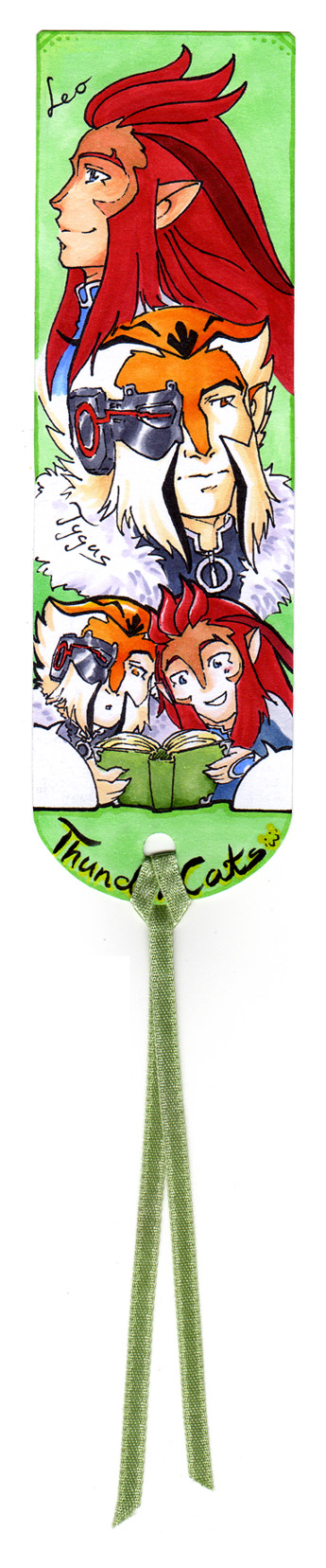 Thundercats Bookmark by Cofie