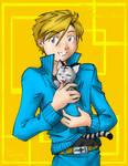 Aru and kitten