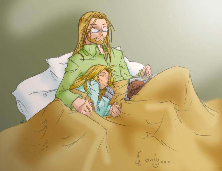 If only... Edo sleep.
