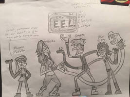 the Evil Elastics League
