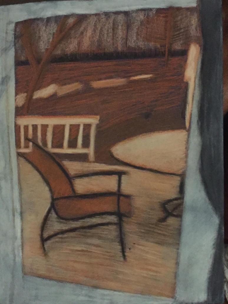 My Stylized Back Porch By The One Aardvark ...