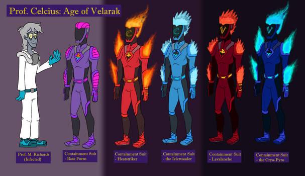 Meet the CAST Pt2: Prof. Celsius / Velarak II