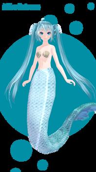 Miku mermaid DL!