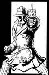 Rorschach redone by JLillustrator