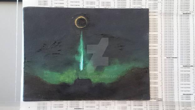 DeathStar Testing Scene painting
