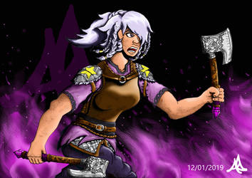 SU Amethyst Viking Art 4