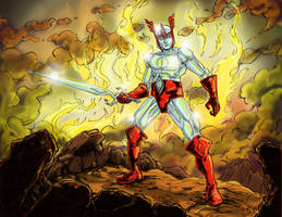 Crystar the Crystal Warrior by Gazbot