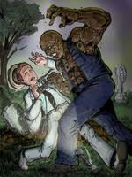 Kolchak vs. the Zombie by Gazbot