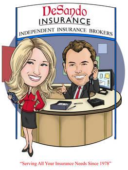 Desanto Insurance Logo