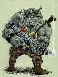 Rocksteady from Teenage Mutant Ninja Turtles