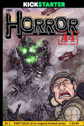 The Horror A4: Issue 1 Cover