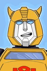 Bumblebee G1 autobot transformer