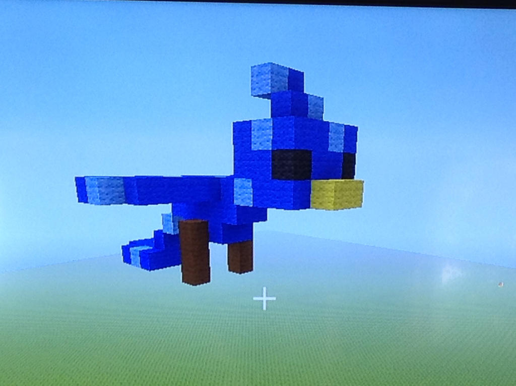 how to train a bird in minecraft