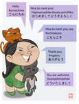 Samichan w ollie and daichan by jeremyhopkins