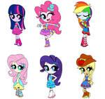 Equestria Girls  prom dresses