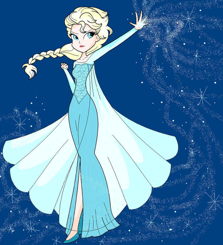 Elsa- Frozen by annasabi101