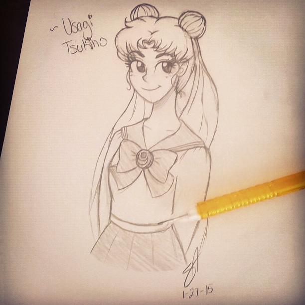 ~Usagi Tsukino by annasabi101