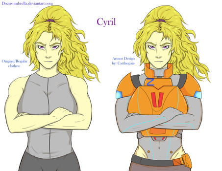 Character Redraw: Cyril