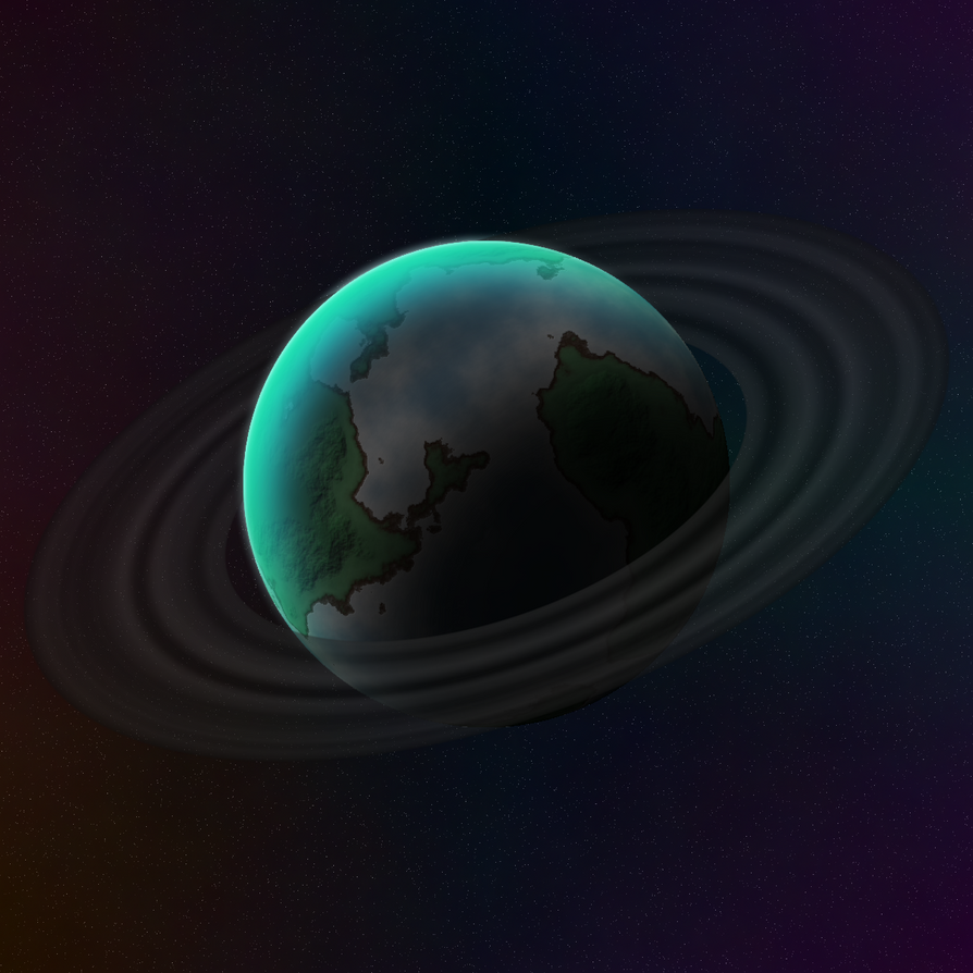 Planet Montac by Alkonium