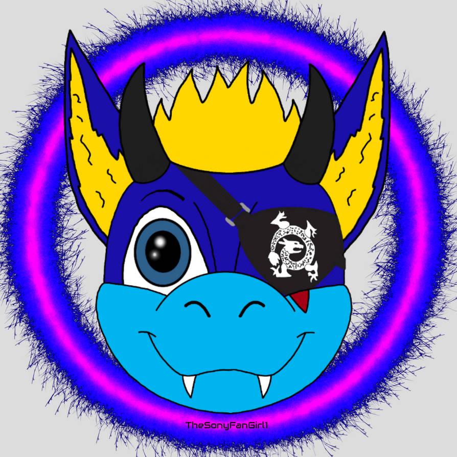 Aoi The Dragon with Eyepatch (Fanon Aoi Ryugoku)