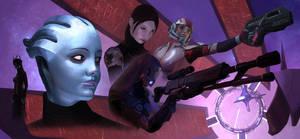 The women of Mass Effect