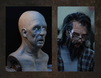 old man latex bust by stalker-switzer