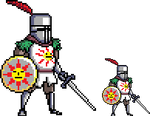 Solaire of Astora by FiragaShark