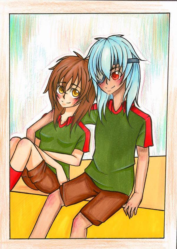 Contest: Angel and Sakuma by Cherrylt