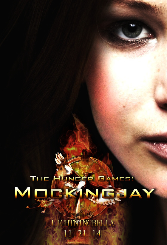 The Hunger Games: Mockingjay - Part 1 [Poster] by LightningBella