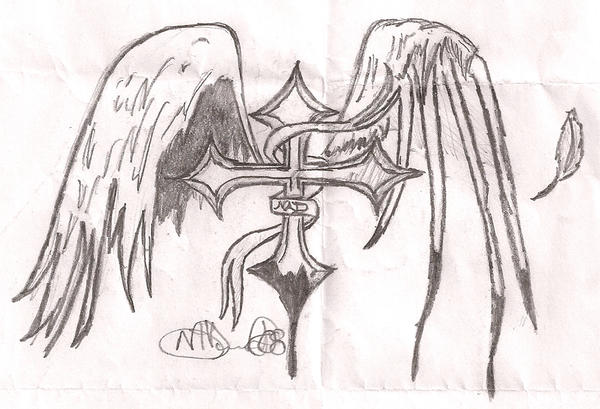 Pictures Of Good And Evil Cross Tattoos Www Kidskunst Info